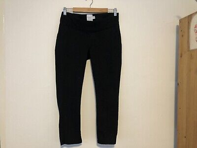Maternity Trousers Black Asos Size 8