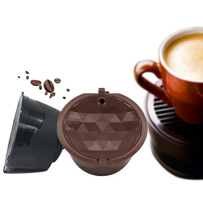 Reusable Refillable Coffee Capsule Filter Cup Pods For Dolce Gusto/Nescafe New