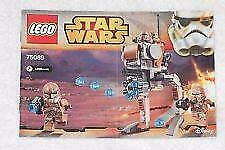 LEGO Instructions Directions Book ONLY 75089-STAR WARS GEONOSIS TROOPERS- NEW!!!