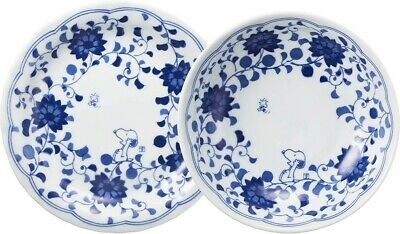 Snoopy Japanese Arabesque Sarahachi Plate/&Bowl Set of 6 Peanuts F//S w//Tracking#