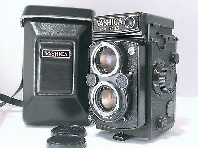🟢NEAR MINT++🟢Yashica Mat 124G 6x6 TLR Medium Format+80mm f/3.5 from Japan 288