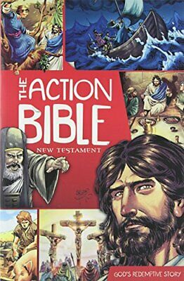 The Action Bible New Testament: God's Redemptive Story (Pi... by Sergio Cariello
