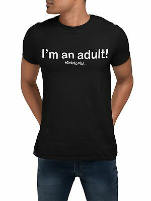 I'm An Adult Technically Funny T Shirt 18th Birthday Gifts For Boys Fathers Day