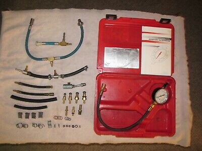 Star Products Fuel Injection Pressure Tester Kit #TU-448PB. Used