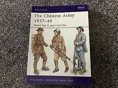 Osprey Men-at-Arms - The Chinese Army 1937-49 WW2 & Civil War
