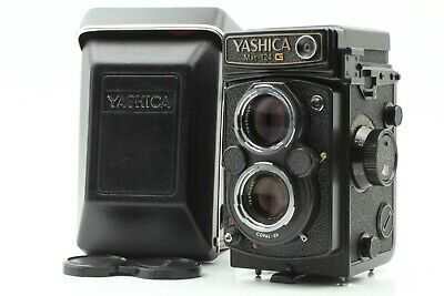 【NEAR MINTw/Case】YASHICA Mat 124G TLR Film Camera Yashinon 80mm F/3.5 From Japan
