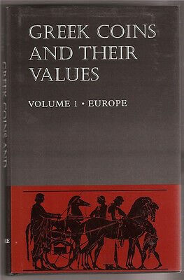 Greek Coins & Their Values Vol 1 * Europe  Ancient Coinage Illustrations US Ship
