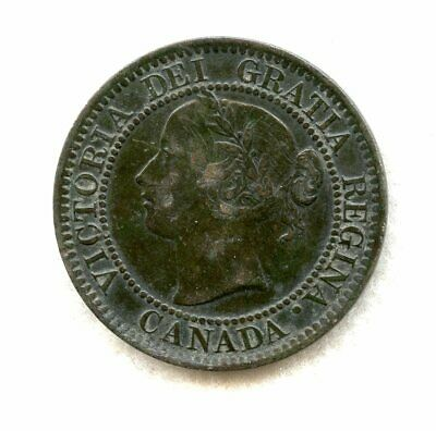 Canada ~ 1859/8 ~ Large Cent Variety ~ Vf-Xf