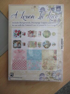My Craft Studio A Lesson in Lace USB