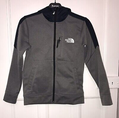 The North Face, Boys, Size Medium youth Junior), Grey Hoodie