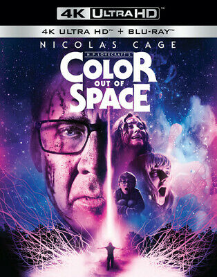 Color Out Of Space 4K Ultra HD Blu-ray