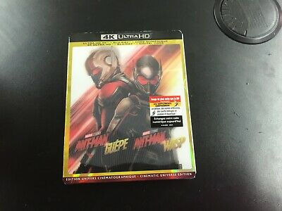 Ant-Man And The Wasp  ( 4K Ultra Hd+Blu-Ray+Digital )New Sealed