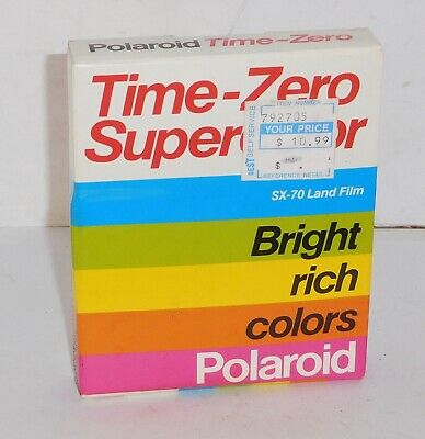 Polaroid Time-Zero Supercolor Film ~ EXPIRED. FREE SHIPPING