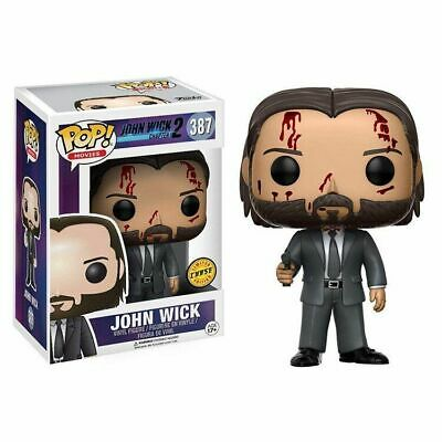 John Wick New Funko Pop Limited Edition Box Action & Figure Protective Packaging