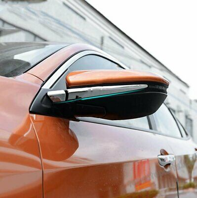 Fit 2016 2017 HONDA CIVIC Chrome Door Rearview Mirror Strip Cover Trim New
