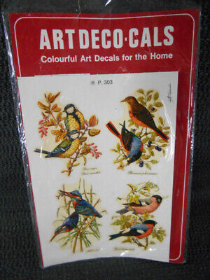 Vintage BIRD DECALS Made in Italy