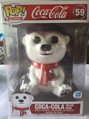 10' Coca-Cola Polar Bear Funko Pop! Vinyl