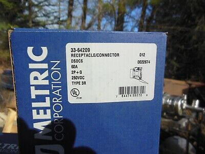 Meltric 33-64209 receptacle connector