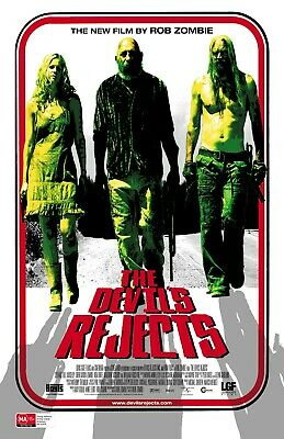 "The Devils'Rejects movie poster (a)  -  11"" x 17"" inches - Horror"