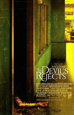 "The Devils'Rejects movie poster (b)  -  11"" x 17"" inches - Horror"