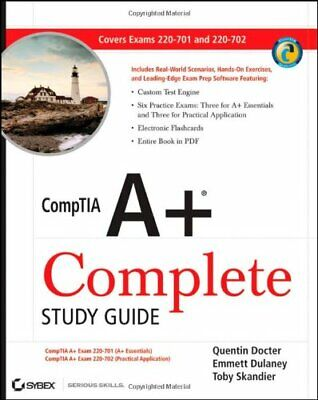CompTIA A+ Complete Study Guide: Exams 220-701 (E... by Skandier, Toby Paperback