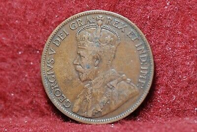 Canada, 1916 Large Cent, KN21, VF, marks, NR,                               2-22