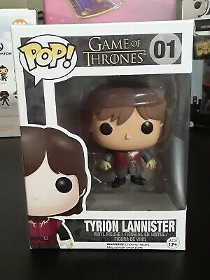 Tyrion Lannister #01 Funko Pop Game Of Thrones MINT will ship with protector