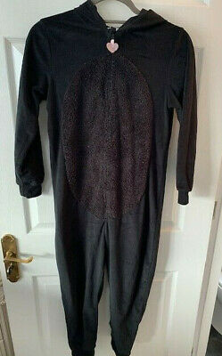 Gorgeous H&M black cat all in one with detachable tail,age 8-10. Good cond!