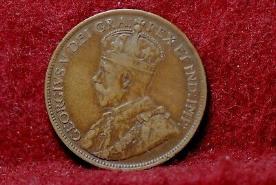 Canada, 1917 Large Cent, KM21, Very Fine, NR, .B                           2-22.