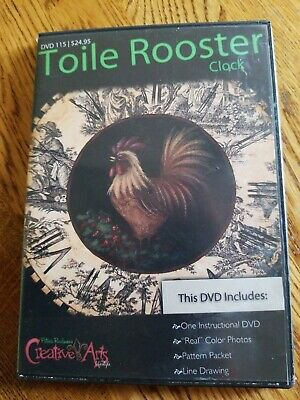 Patricia Rawlinson Toile Rooster DVD