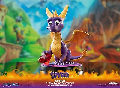First 4 Figures Spyro the Dragon Reignited Trilogy 20cm Statue New