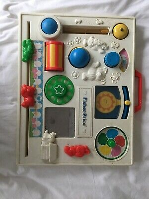 Vintage Fisher Price Cot Activity Centre