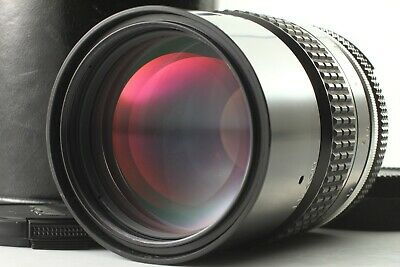 【Near Mint /W Case】 Nikon Ai Nikkor 135Mm F/2.8 Mf Telephoto Lens Japan #0101