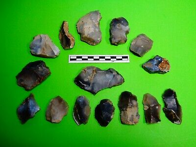 Flint Group of Tools;Mesolithic /Neolithic  (N)-Dorset Found  -Look!