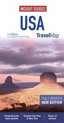 Insight Travel Map: USA & Canada South (Insight Travel Maps) by Guides, Insight