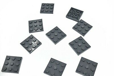 LEGO LOT OF 20 NEW Grey PLATES 3 X 3 CROSS PIECES 6226936