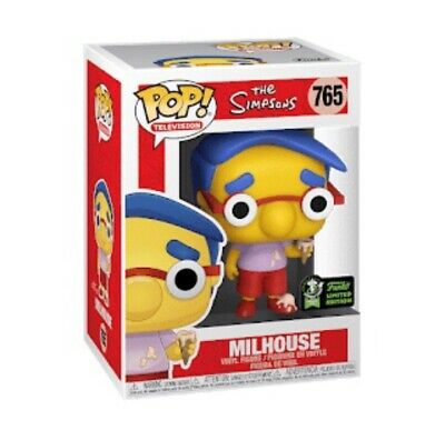 Milhouse - The Simpsons Funko Pop 2020 ECCC Exclusive Shared Preorder