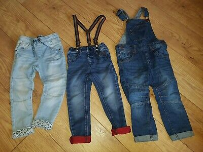 NEXT Boys jeans Denim Bundle Age 2-3 Years