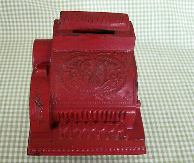 Vintage Cash Register Coin Bank:  A Penny A Day