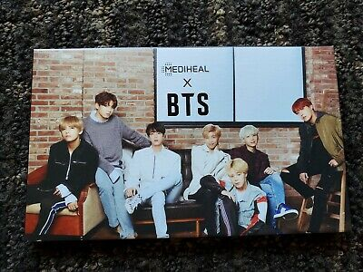 BTS  x Mediheal Official Authentic Goods Photo Card (14 photos + review)