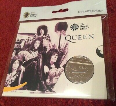 2020 Music Band QUEEN £5 FIVE POUND Coin BU Royal Mint