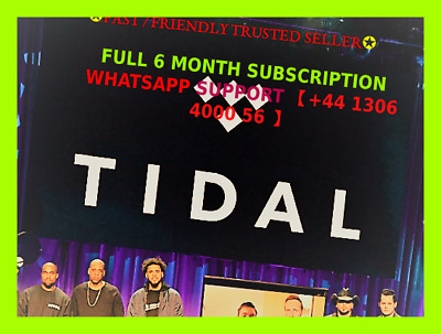 TɪDAL HiFi Master🔥Personal Account | 6 Months | Guarranteed !!!FREE GIFT!!!