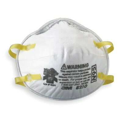 N95 8120 3M Particulate Respirator Mask - 2 Pack  我们运到中国 NIOSH Approved 84A-000