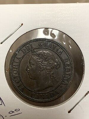 1900**Canada One Large Cent Coin**BU/MS