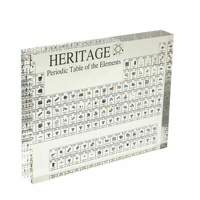 Periodic Table Acrylic Display Elements Gift 170 Teaching Teacher Decor Science