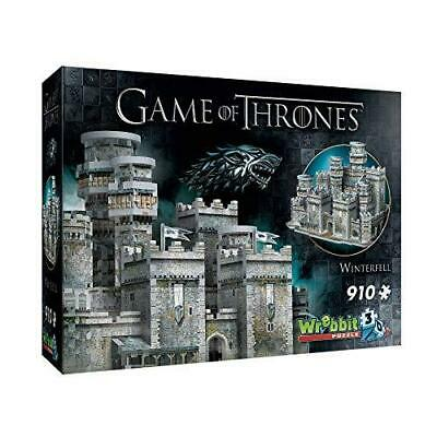 Wrebbit 3D - Game of Thrones Winterfell Jigsaw Puzzle - 910Piece
