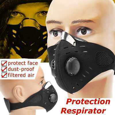 Anti Dust Breathable Respirator Mask PM2.5 Carbon Activated Filtration Face Mask