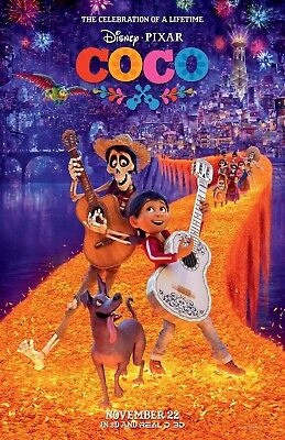 Coco movie poster collectors print  :  11 x 17 inches (style a) - Disney
