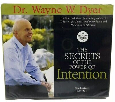 The Secrets of the Power of Intention by Wayne W. Dyer 2004 CD Unabridged New