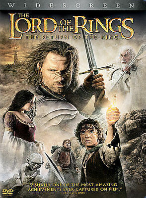 The Lord of the Rings: Return of the King (DVD, 2004, 2-Disc Set, Widescreen)NEW